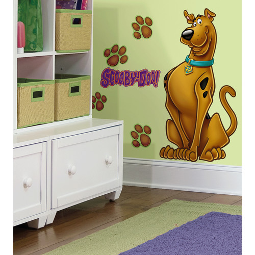 RoomMates RMK1607GM Scooby Doo Peel & Stick Giant Wall Decal