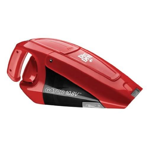 Dirt Devil Hand Vacuum Cleaner Gator 10.8 Volt Cordless Bagless Handheld Vacuum BD10100 [1-(Pack)]