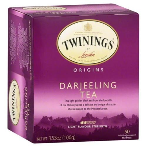 Twinings Origins Tea Darjeeling 50 Tea Bags