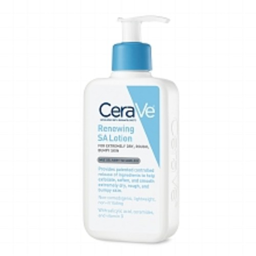 CeraVe Renewing SA Body Cleanser Fragrance Free Body Wash with Salicylic Acid