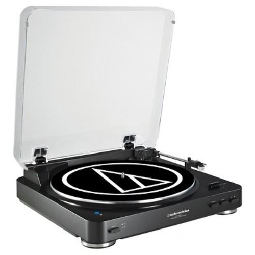 Audio Technica AT-LP60BK-BT Bluetooth Wireless Stereo Turntable - Black