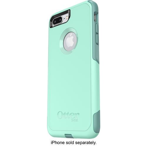 OtterBox - Commuter Series Case for Apple iPhone 7 Plus and iPhone 8 Plus - Aqua/Blue