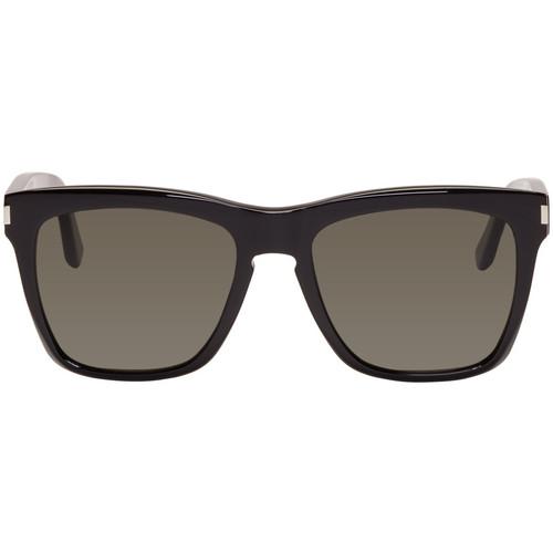 SAINT LAURENT Black Sl 137 Devon Sunglasses