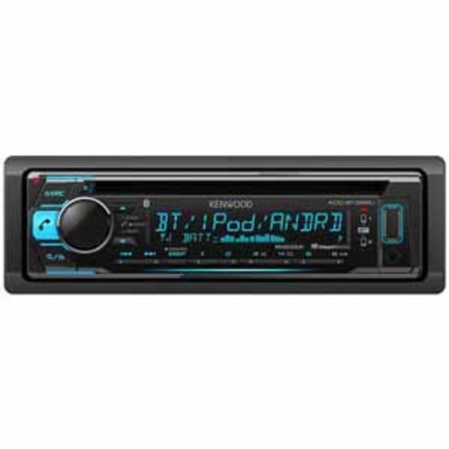 Kenwood CD Receiver with Built-in Bluetooth