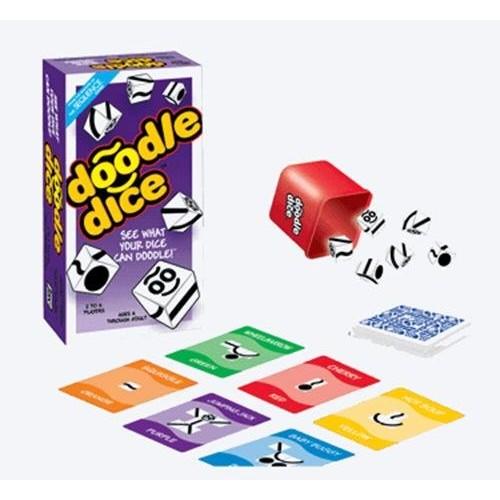 Jax Ltd Games GAME DOODLE DICE