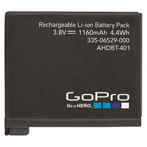Woodman Labs RECHARGEABLE BATTERY FOR HERO4 (AHDBT-401)