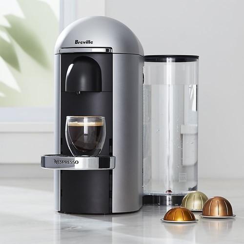 Nespresso  by Breville Vertuo Deluxe Plus Silver Coffee Maker