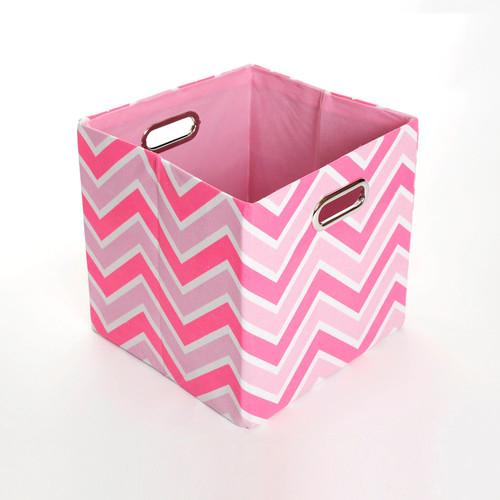 Modern Littles Rose Zigzag Folding Storage Bin