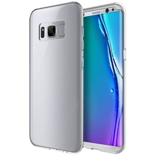 Insten High Quality Crystal Skin TPU Rubber Skin Gel Case For Samsung Galaxy S8 - Clear