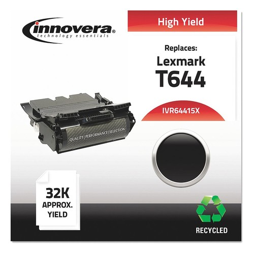 Lexmark Toner Cartridge, No. T644, Black