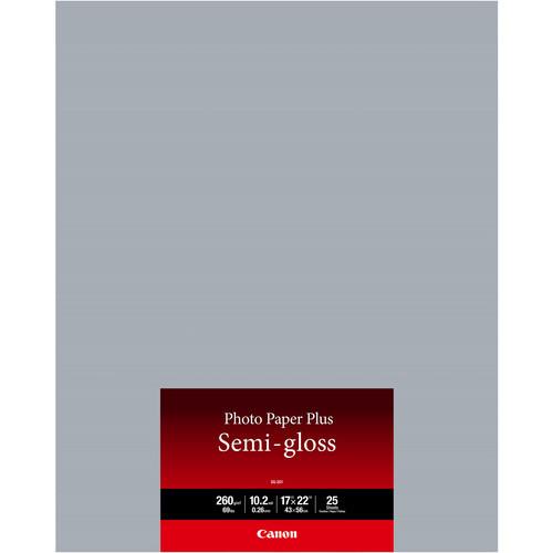 SG-201 Photo Paper Plus Semi-Gloss (17 x 22