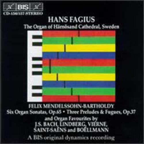 Mendelssohn: Six Organ Sonatas, Op. 65; Three Preludes & Fugues, Op. 37; and Others By Hans Fagius (Audio CD)