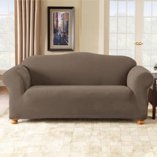 Stretch Pique Sofa Slipcover by Sure Fit