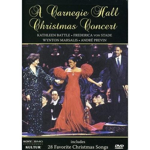 A Carnegie Hall Christmas Concert / Frederica von Stade, Kathleen Battle, Wynton Marsalis: Wynton Marsalis, Kathleen Battle, Frederica von Stade, Andre Previn: Movies & TV