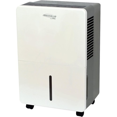 Soleus Air - 30-Pint Portable Dehumidifier - Gray/white