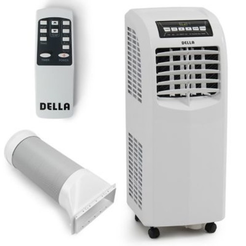 Della Cooling Fan Dehumidifier 8,000 BTU Portable Air Conditioner w/ Remote