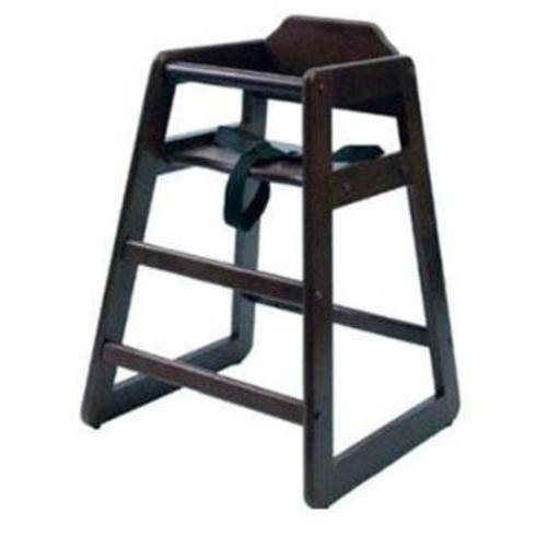 Lipper International Child's High Chair-Espresso