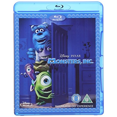 Disney Pixar Monster, Inc. Blu-Ray Combo Pack (Blu-Ray/Digital HD)
