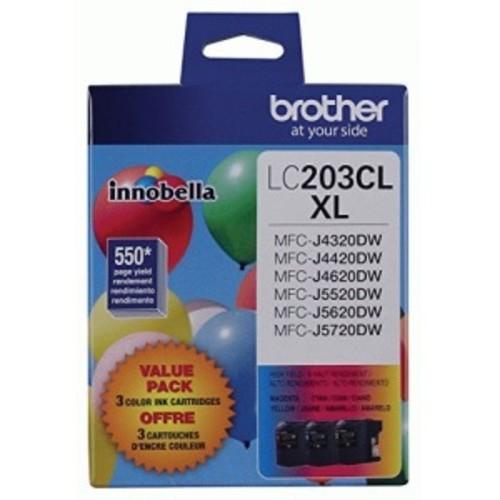 Brother Innobella LC2033PKS Ink Cartridge - Cyan, Magenta, Yellow
