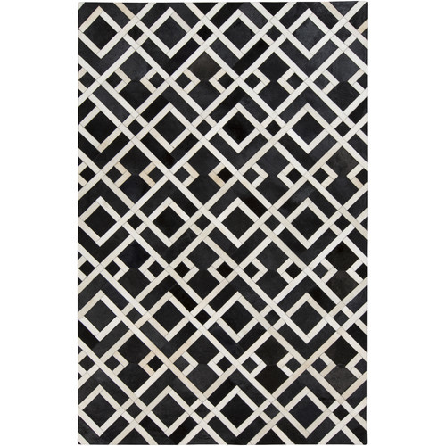 Surya Trail Black/Ivory Area Rug