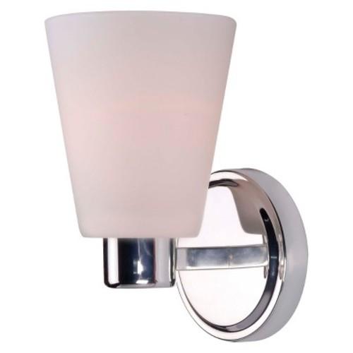 Kenroy Home Scarsdale 1-Light Sconce, Polished Nickel