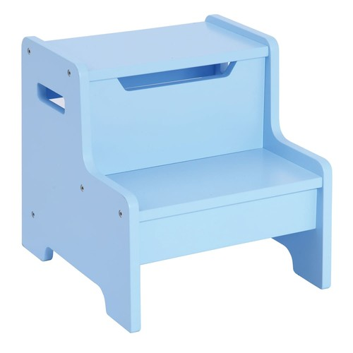Expressions Step Stool: Light Blue