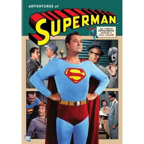 Adventures of Superman: The Complete 5th & 6th Seasons (DVD) [Adventures of Superman: The Complete 5th & 6th Seasons DVD]