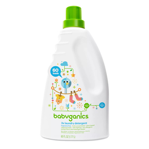 BabyGanics 1-Liter Laundry Detergent