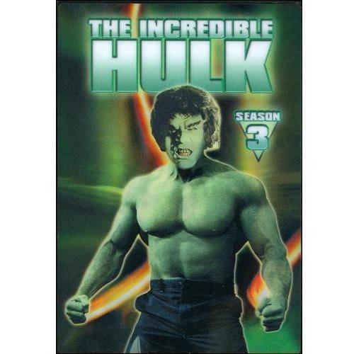 The Incredible Hulk: The Complete Third Season [5 Discs] [DVD]