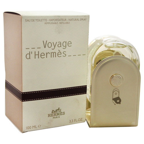 Voyage D'Hermes by Hermes for Unisex - 3.3 oz EDT Spray (Refillable)