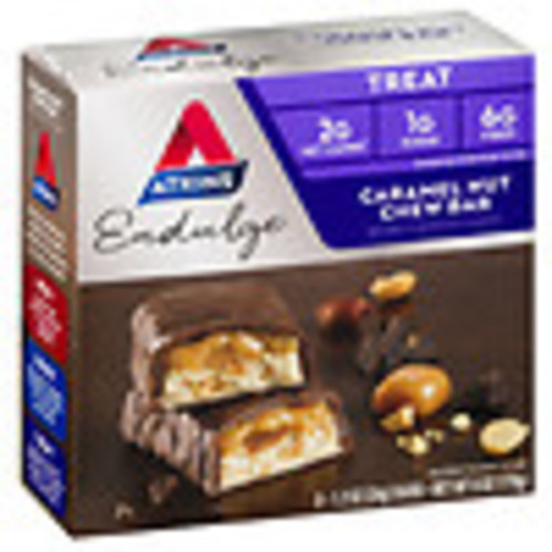 Atkins Endulge Snack Bars Caramel Nut Chew