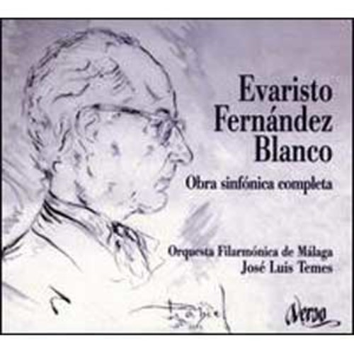 Evaristo Fernandez Blanco: Complete Orchestral Works By Jos Luis Temes (Audio CD)