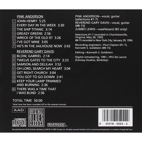 Gospel Blues & Street Songs