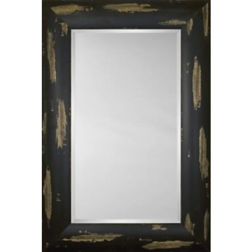 Mirror Image Home Mirror Style 81205 - Espresso w/ Distressed Finish; 48 x 68