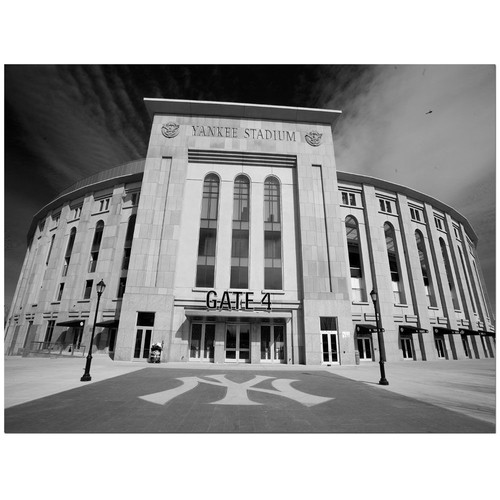 Trademark Global Yale Gurney 'The Stadium' Canvas Art [Overall Dimensions : 18x24]
