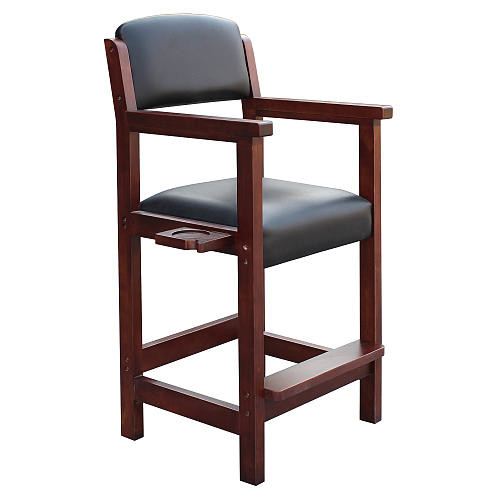 Hathaway Cambridge Spectator Chair - Antique Walnut Finish