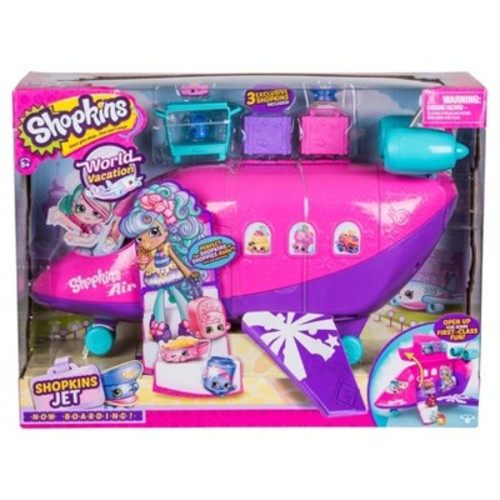 Shopkins World Vacation Airplane Playset