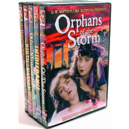 Orphans of the Storm/Intolerance/Way Down East/Birth of a Nation/Broken Blossoms [5 Discs] [DVD]