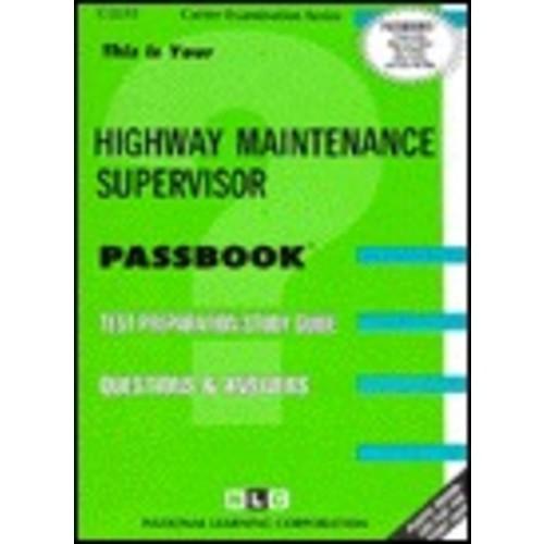 Highway Maintenance Supervisor