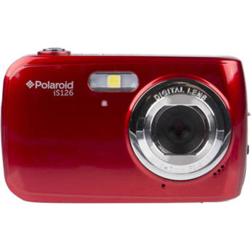 iS126 Digital Camera (Red)
