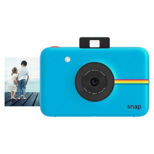 Snap Instant Digital Camera with Paper Kit (Blue)