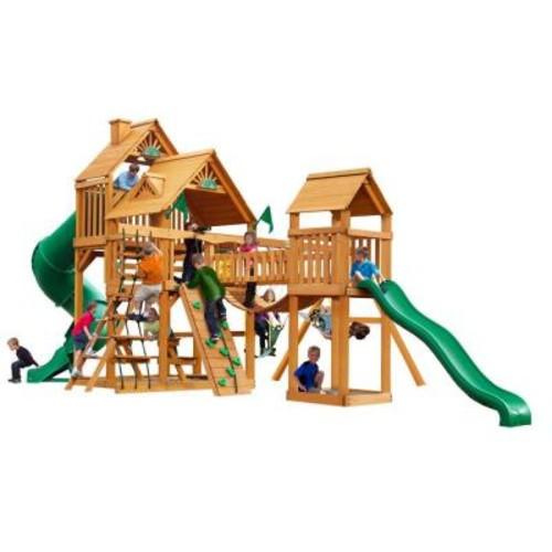 Gorilla Playsets Treasure Trove with Amber Posts Cedar Playset
