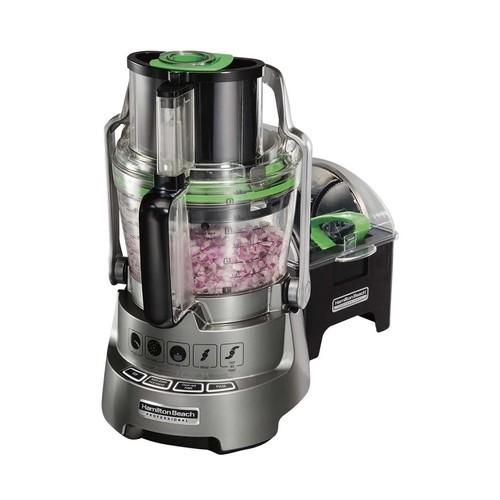 Hamilton Beach - Professional 14-Cup Food Processor - Gray