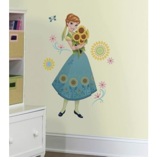 RoomMates Disney Frozen Fever Anna Peel & Stick Giant Wall Decals