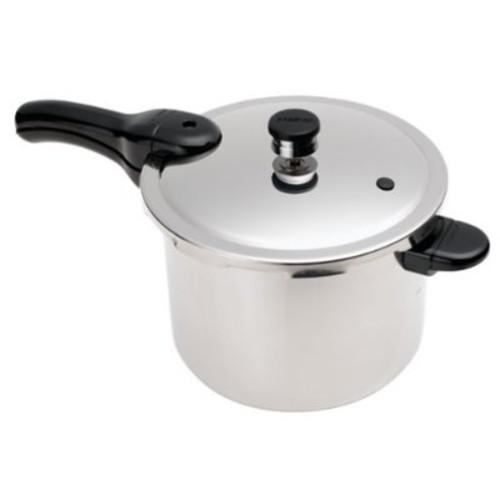 Presto 01362 6-Quart Stainless Steel Pressure Cooker [6 qt]