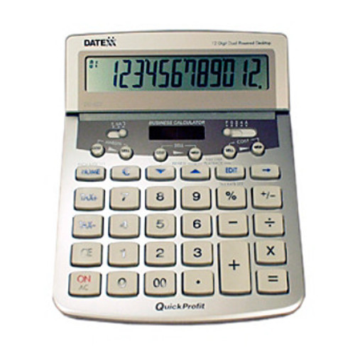 Datexx 12-Digit Desktop Calculator