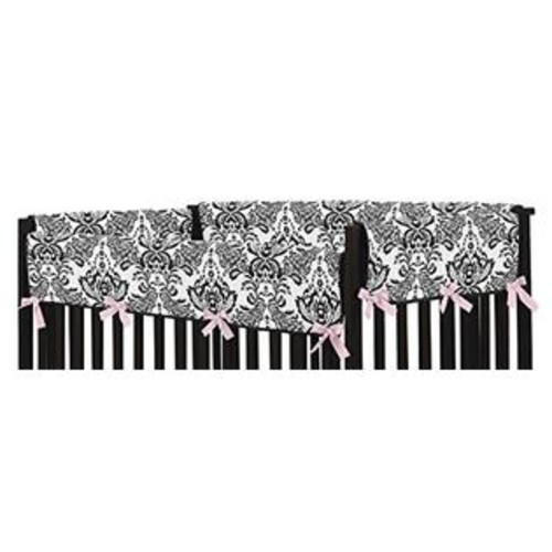 Sweet Jojo Designs Side Crib Rail Guard Covers for the Sophia Collection by
