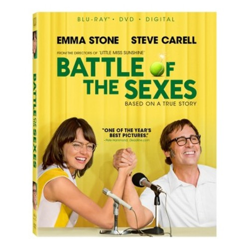 Battle of the Sexes (Blu-ray + DVD + Digital)
