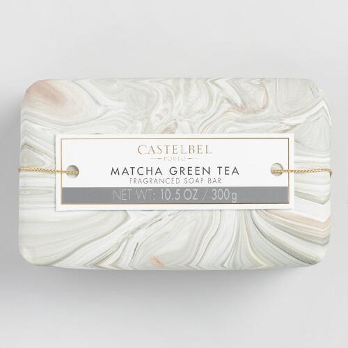 Castelbel Marble Matcha Green Tea Bar Soap