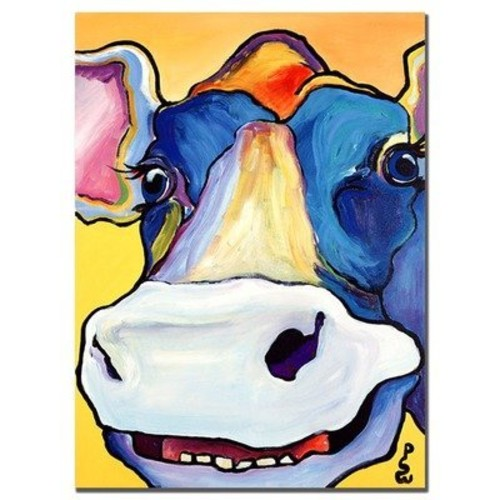 Dairy Queen by Pat Saunders-White, 18x24-Inch Canvas Wall Art [18 by 24-Inch]